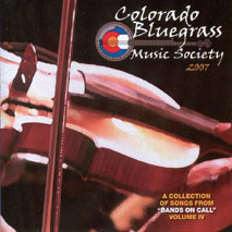 Colorado Bluegrass Music Society 2007 Compilation CD