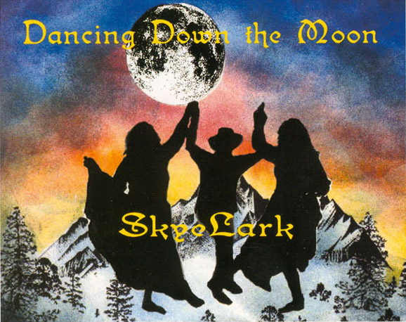 SkyeLark Dancing Down the Moon CD